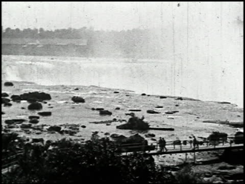 niagara falls: various views of america's most famous waterfall - 10 of 10 - see other clips from this shoot 2379 stock videos and b-roll footage