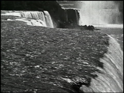 niagara falls: various views of america's most famous waterfall - 4 of 10 - see other clips from this shoot 2379 stock videos and b-roll footage