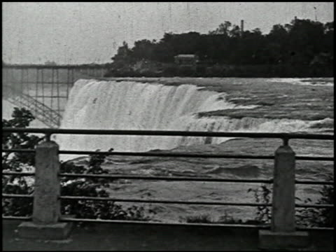 niagara falls: various views of america's most famous waterfall - 9 of 10 - see other clips from this shoot 2379 stock videos and b-roll footage