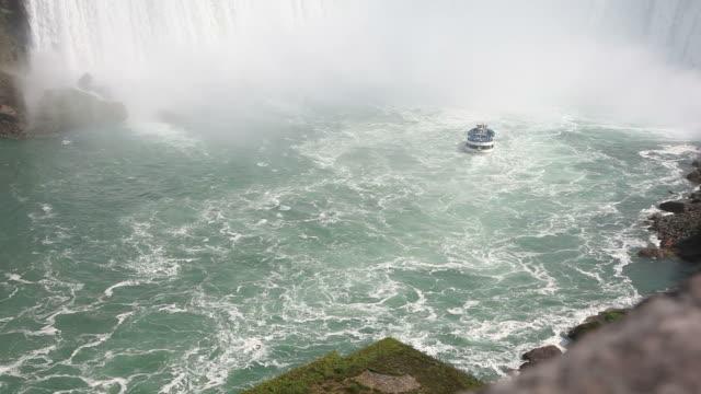 ナイアガラの滝 - ナイアガラフォールズシティ点の映像素材/bロール