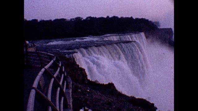 1961 niagara falls - niagara falls stock videos & royalty-free footage