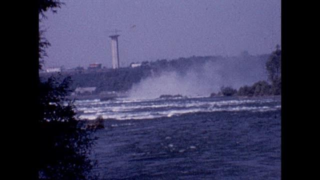 1961 niagara river - river niagara stock videos & royalty-free footage