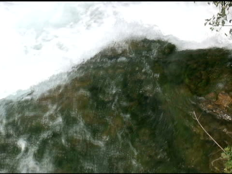 niagara upper rapids 12 - ntsc with sound - river niagara stock videos & royalty-free footage