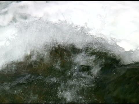 niagara upper rapids 13- ntsc with sound - river niagara stock videos & royalty-free footage