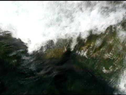 niagara upper rapids 14 - ntsc with sound - river niagara stock videos & royalty-free footage
