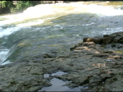 niagara upper rapids 39-ntsc - fluss niagara river stock-videos und b-roll-filmmaterial