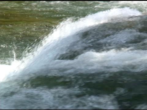niagara upper rapids 41-ntsc - fluss niagara river stock-videos und b-roll-filmmaterial