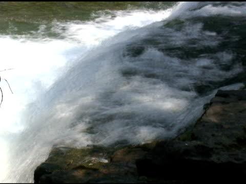 niagara upper rapids 42-ntsc - fluss niagara river stock-videos und b-roll-filmmaterial