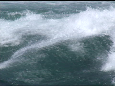 niagara tomaia rapids 51-ntsc con suono - fiume niagara video stock e b–roll