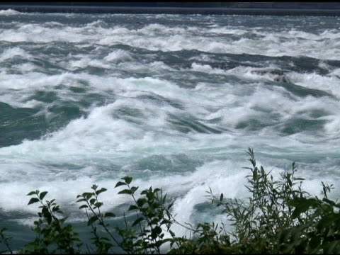 niagara upper rapids 52 - ntsc - river niagara stock videos & royalty-free footage