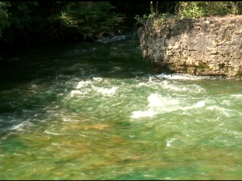 niagara upper rapids 6 - ntsc - river niagara stock videos & royalty-free footage