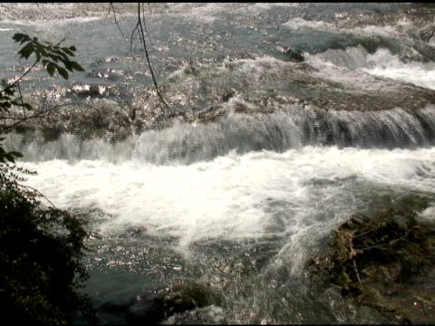 niagara upper rapids 7 - ntsc - river niagara stock videos & royalty-free footage