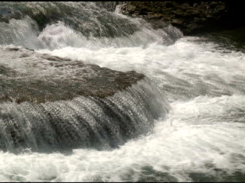 niagara upper rapids 8 - ntsc - named wilderness area stock videos & royalty-free footage