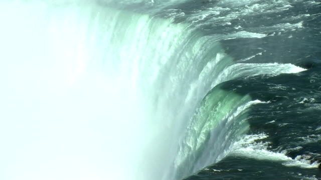 vídeos de stock e filmes b-roll de niagara quebras de água - niagara falls city estado de nova iorque