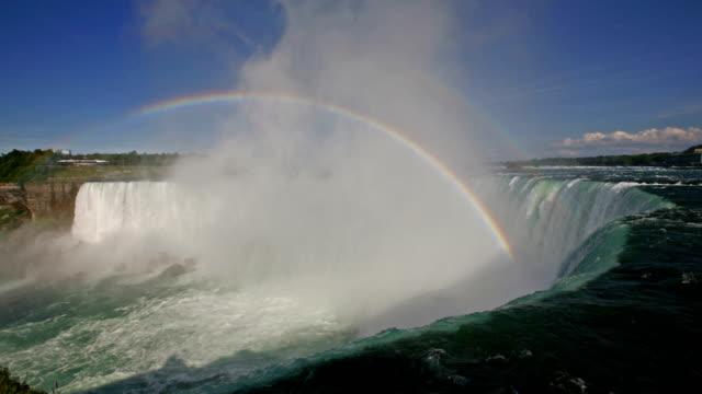 cascate del niagara - niagara falls video stock e b–roll