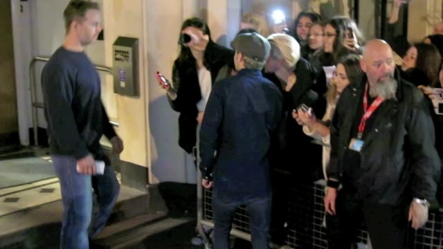 Niall Horan at BBC Maida Vale Studios at Celebrity Sightings in London on November 12 2015 in London England