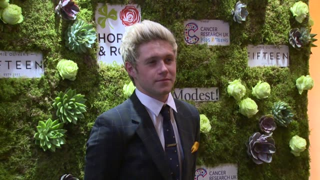 Niall Horan at The Grove Hotel on May 29 2016 in Hertford England