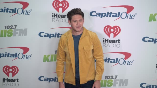Niall Horan at the KIIS FM's iHeartRadio Jingle Ball 2017 at The Forum on December 1 2017 in Inglewood California