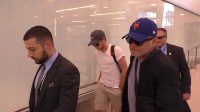 Niall Horan departing at LAX Airport in Los Angeles in Celebrity Sightings in Los Angeles