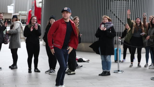 Niall Horan meets fans outside Talksport Radio Studios at Celebrity Sightings in London on March 22 2019 in London England