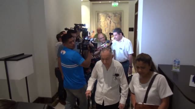 Nicaragua opposition members announce the arrival of an OAS delegation in Managua to evaluate their possible participation in the peace talks stalled...