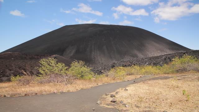 nicaragua volcan de cerro negro - nicaragua stock videos & royalty-free footage