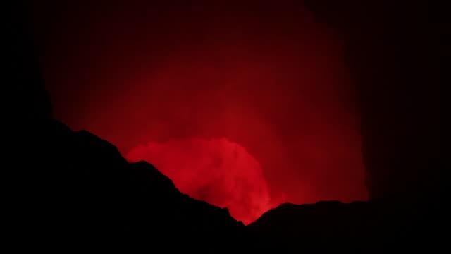 nicaragua volcan en fusion - nicaragua stock videos and b-roll footage