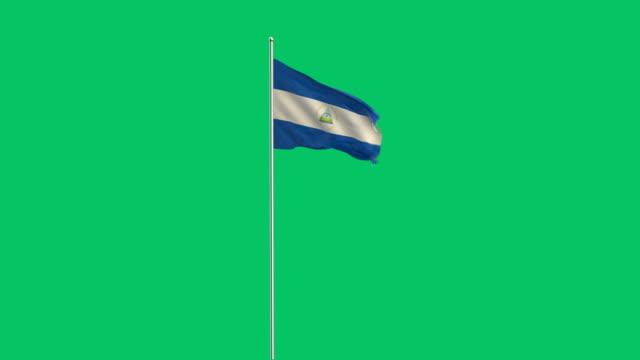nicaraguanische Rising flag