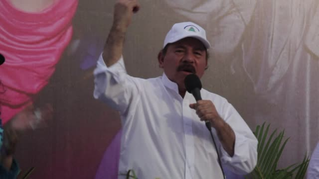 nicaraguas congress on tuesday approved a constitutional reform that if ratified would scrap term limits enabling president daniel ortega to run for... - managua stock videos & royalty-free footage