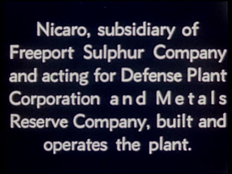 [nicaro nickel company] - 1 of 37 - see other clips from this shoot 2302 stock videos & royalty-free footage