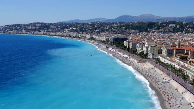 Nice beach, Côte d'Azur, France