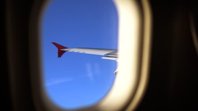Mooi uitzicht vanuit vliegtuig