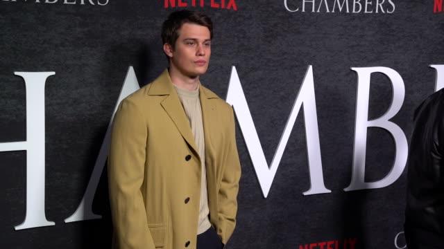 Nicholas Galitzine at the Netflix 'Chambers' Premiere