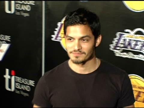 nicholas gonzalez at the la lakers and celebrities 2nd annual las vegas poker night at barker hangar in santa monica california on april 14 2005 - barker hangar stock videos & royalty-free footage