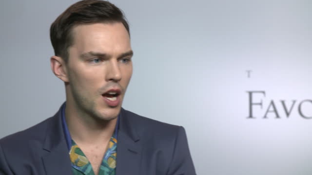 INTERVIEW Nicholas Hoult on the influence of power at 'The Favourite' interviews at the 75th Venice International Film Festival on August 30 2018 in...