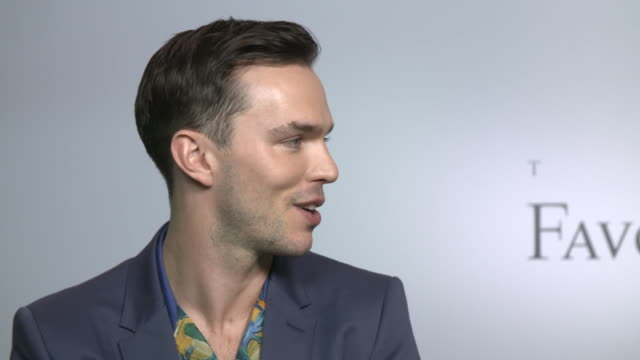 INTERVIEW Nicholas Hoult on the physicality of the part how Yorgos Lanthimos thrived at being creative expressing scenes at 'The Favourite'...