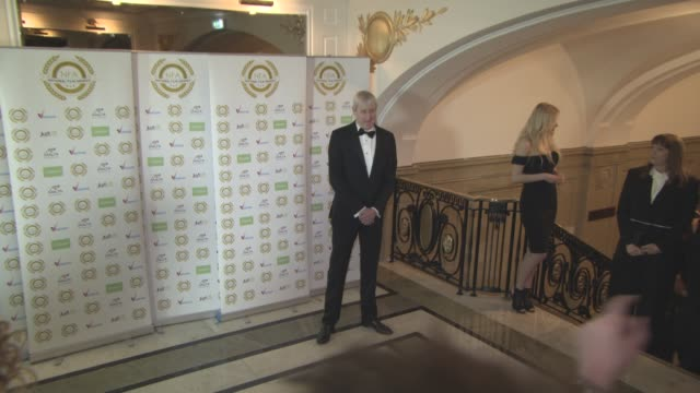 nicholas lyndhurst at national film awards at porchester hall on march 29, 2017 in london, england. - nicholas lyndhurst stock videos & royalty-free footage