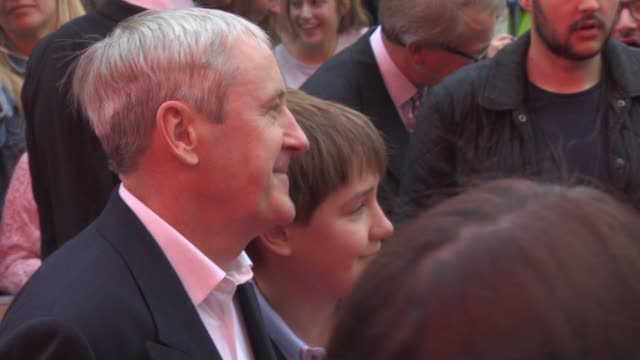 nicholas lyndhurst at the bad education movie - uk film premiere at vue leicester square on august 20, 2015 in london, england. - nicholas lyndhurst stock videos & royalty-free footage