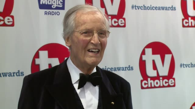 nicholas parsons at the dorchester on september 10, 2018 in london, england. - nicholas parsons stock videos & royalty-free footage