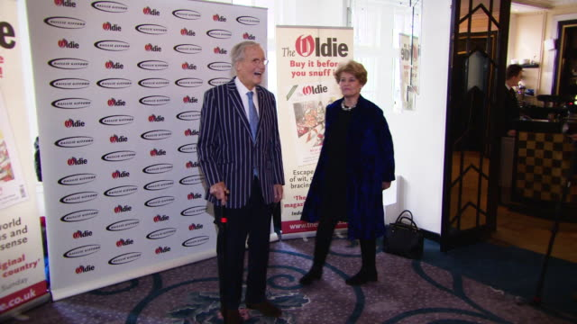nicholas parsons at the oldie of the year awards on january 29, 2019 in london, england. - nicholas parsons stock videos & royalty-free footage