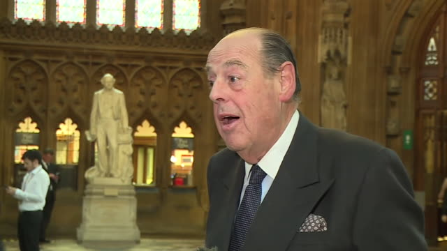 nicholas soames saying the decision of boris johnson to suspend conservative mp's who voted against him in brexit votes sends a stupid unfortunate... - grandson stock videos & royalty-free footage