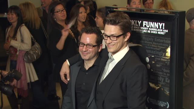 vidéos et rushes de nicholas tabarrok peter stebbings at the 'defendor' premiere at los angeles ca - peter stebbings