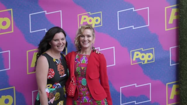 nicholle tom at the premiere of pop tv's 'hollywood darlings' on april 06, 2017 in los angeles, california. - ニコール トム点の映像素材/bロール