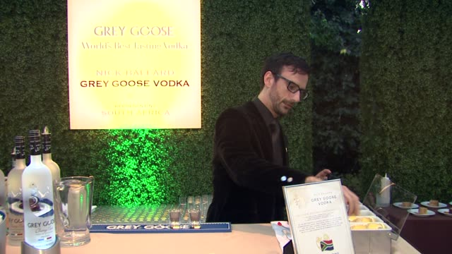 nick ballard on what he prepared for the evening at a taste of the world presented by breeders' cup grey goose vodka on 11/2/2012 in pasadena ca - grey goose vodka stock videos & royalty-free footage