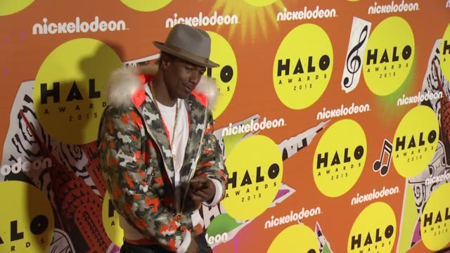 nick cannon at 2015 nickelodeon halo awards at pier 36 on november 14 2015 in new york city - nick cannon stock videos & royalty-free footage