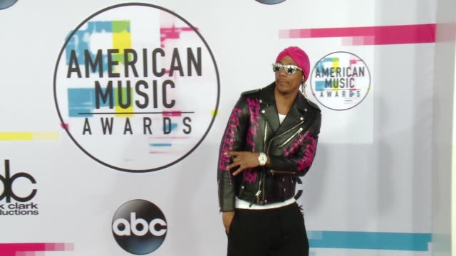 nick cannon at 2017 american music awards on november 19 2017 in los angeles california - nick cannon stock videos & royalty-free footage