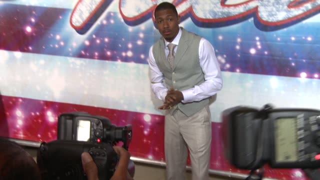 Nick Cannon at 'America's Got Talent' Red Carpet Nick Cannon at 'America's Got Talent' Red Carpet at the Pantages Theatre on April 24 2013 in...