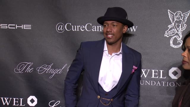 nick cannon at gabrielle's angel foundation hosts angel ball 2015 at cipriani wall street on october 19 2015 in new york city - cipriani wall street stock videos & royalty-free footage