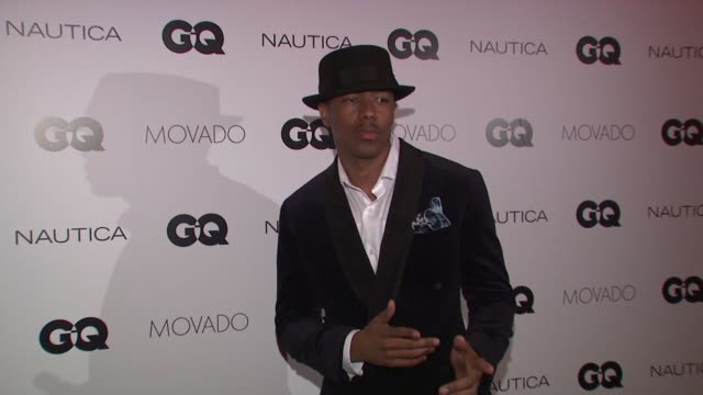 nick cannon at gq gentlemen's cocktail reception awards ceremony at the gent on october 22 2015 in new york city - nick cannon stock videos & royalty-free footage