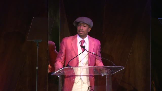 nick cannon at march of dimes celebration of babies luncheon honoring jennifer lopez in los angeles, ca on 12/06/13 - nick cannon stock videos & royalty-free footage